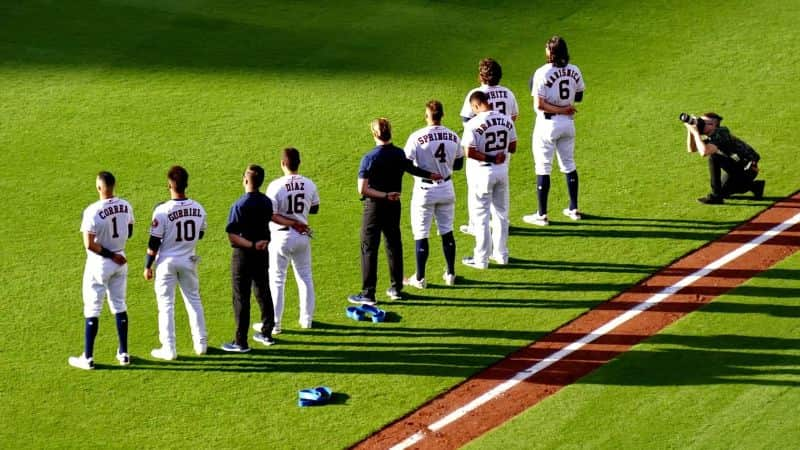 National anthem day,                 baseball baseball stadium
