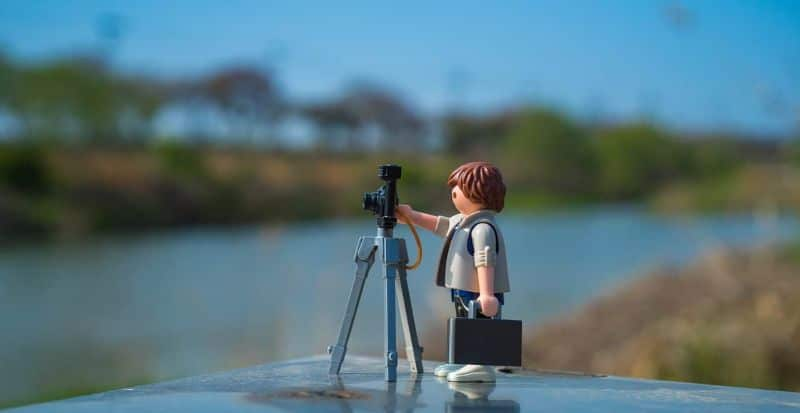 ex playmobil photography photographer