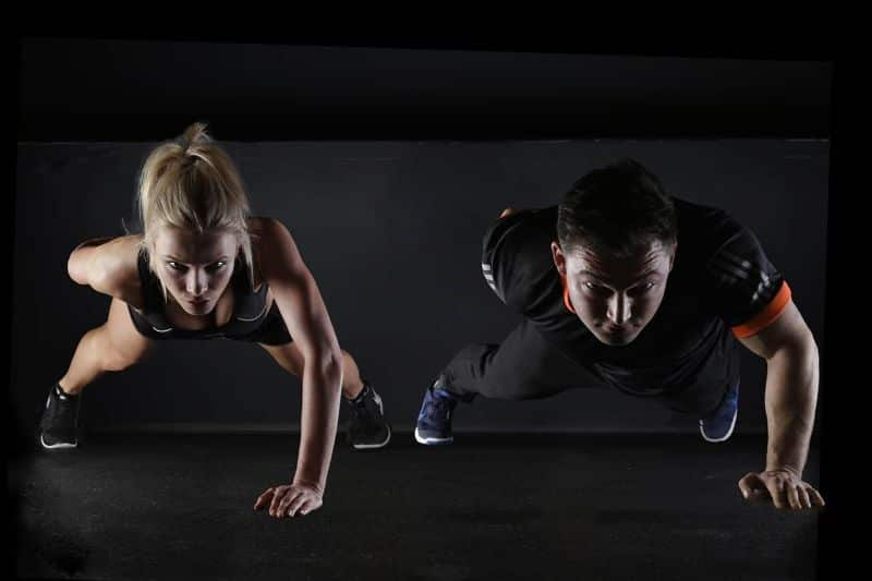 gymnastics sport push-up strength training