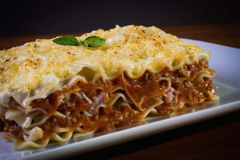 National lasagna day,                 meal dinner food                noodles small large