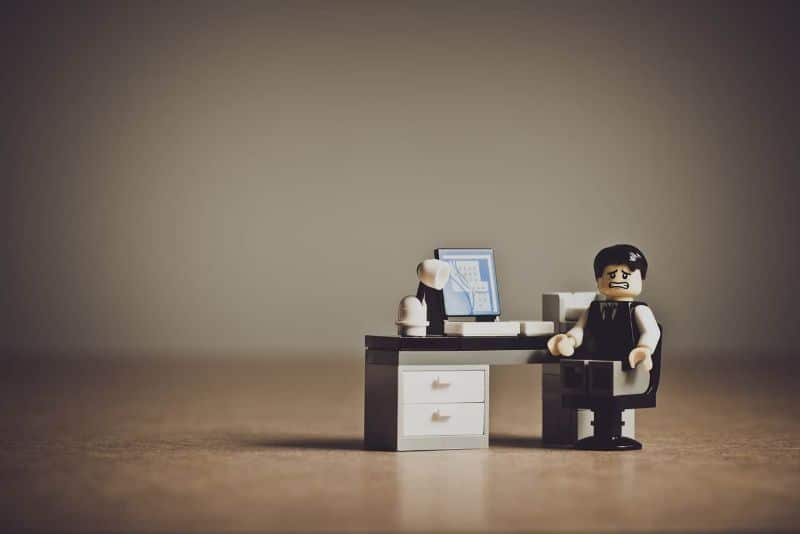 National lego day,                 despaired businessman business                office people accused