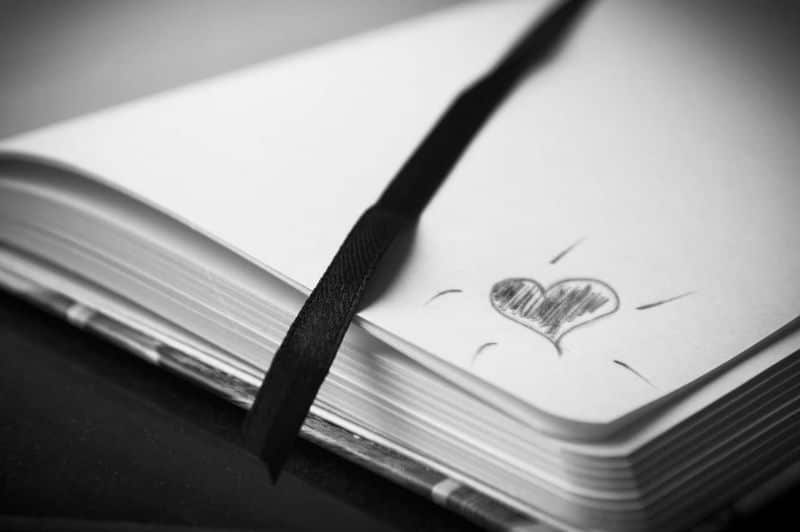 National poetry day,                 book heart love