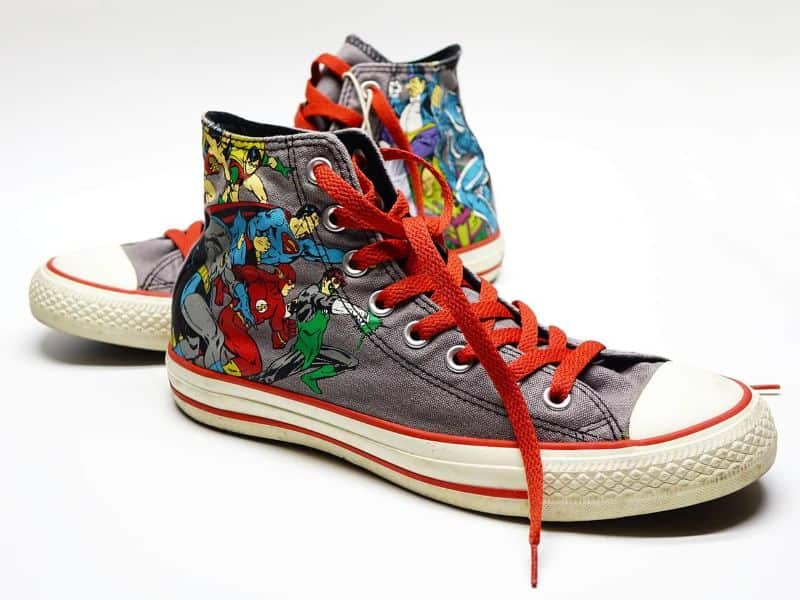 National superhero day,                 shoe canvas sneakers