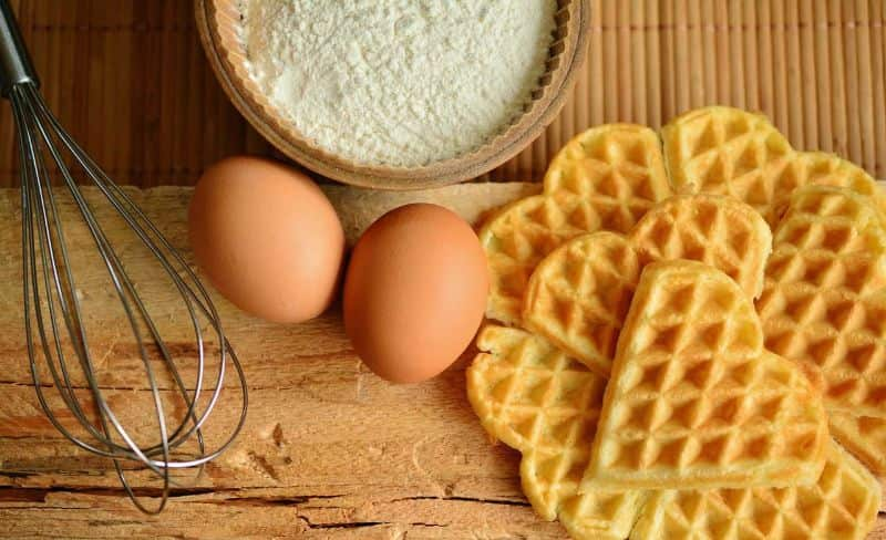 National waffle day,                 waffles waffles bake ingredients