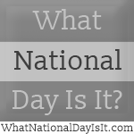 National Eat What You Want Day